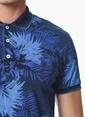 Que Tişört İndigo